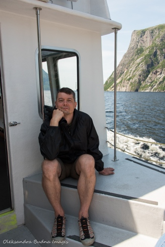 western brook pond boat tour in Gros Morne Park in Newfoundland