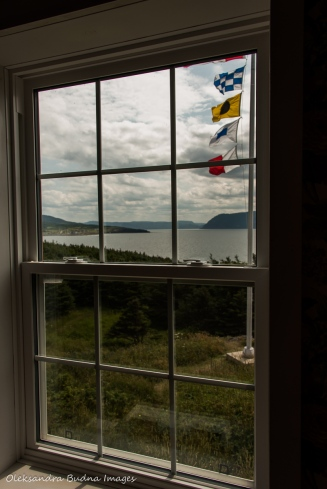 view from Lobster Cove Head lighthouse in Gros Morne park in newfoundland