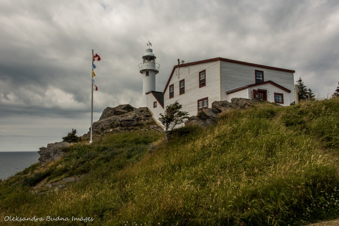 Lobster Cove Head Lighthouse in Gros Morne park in Newfoundland