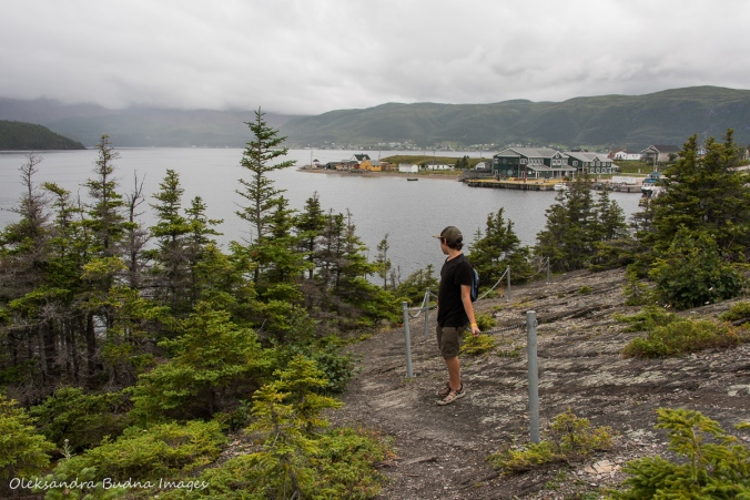 hiking in Norris Point in Newfoundland