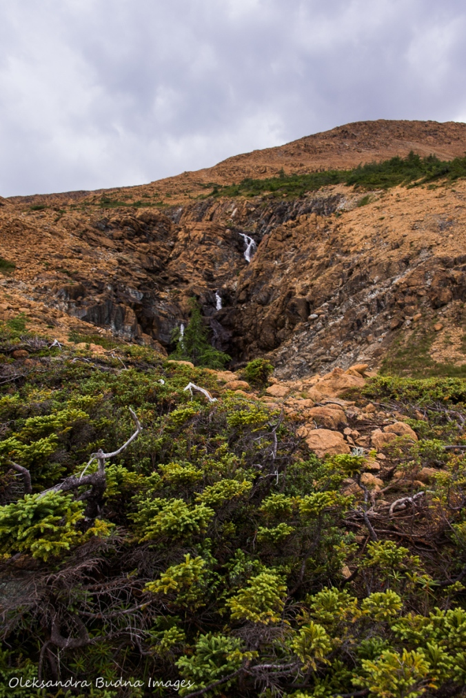 Tablelands in Gros Morne National Park in Newfoundland