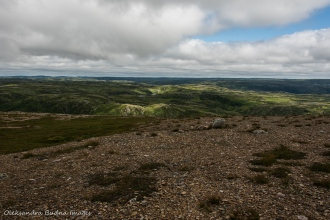 views from Gros Morne mountain in Newfoundland