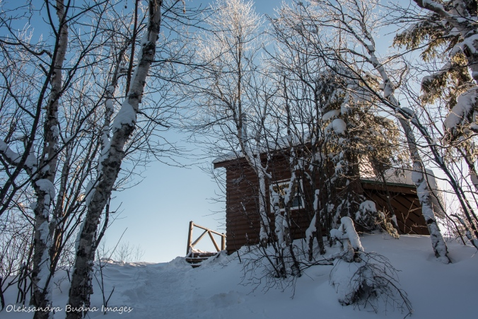 La Cigale rustic shelter in Parc National d'Aiguebelle