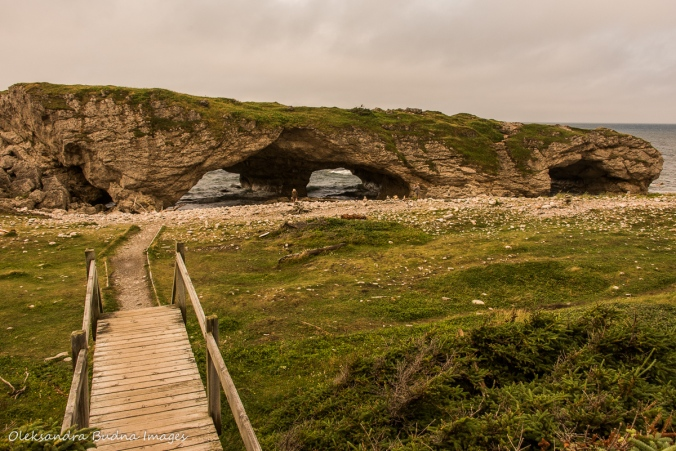 Arches Provincial Park in Newfoundland