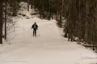 cross-country skiing near Windy Lake Provincial park - Onaping Falls Nordic Ski Club