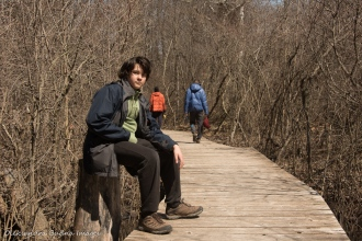 trail at Point Pelee