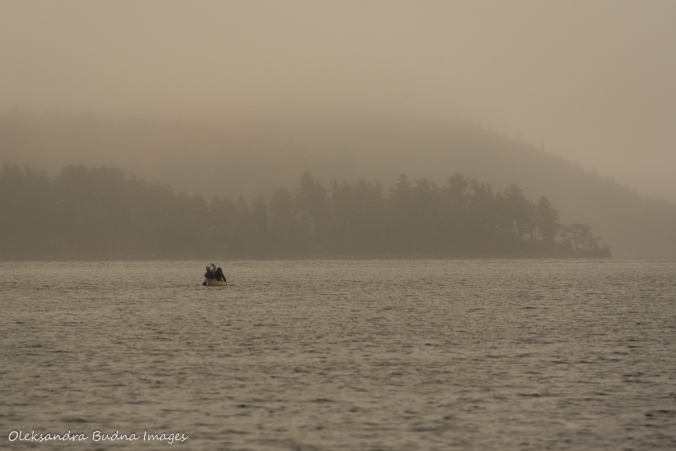Smoke Lake in Algonquin in the fall