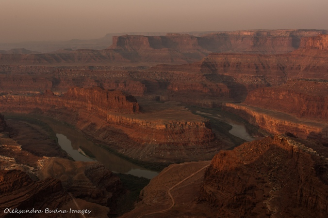 View from Dead Horse Point in Utah