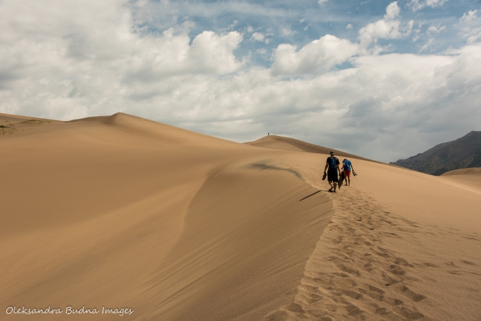 sand dunes at Great Sand Dunes National Park in Colorado