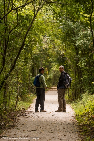 walking at Point Pelee National Park