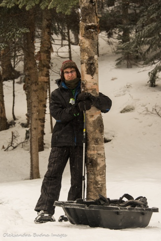 snowshoeing at Parc national du Mont-Mégantic