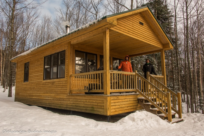 Spica cabin at Parc national du Mont-Mégantic