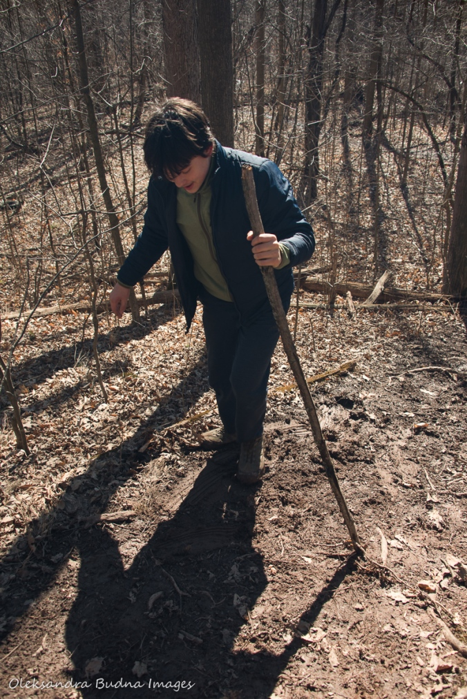 hiking Bruce trail in the spring