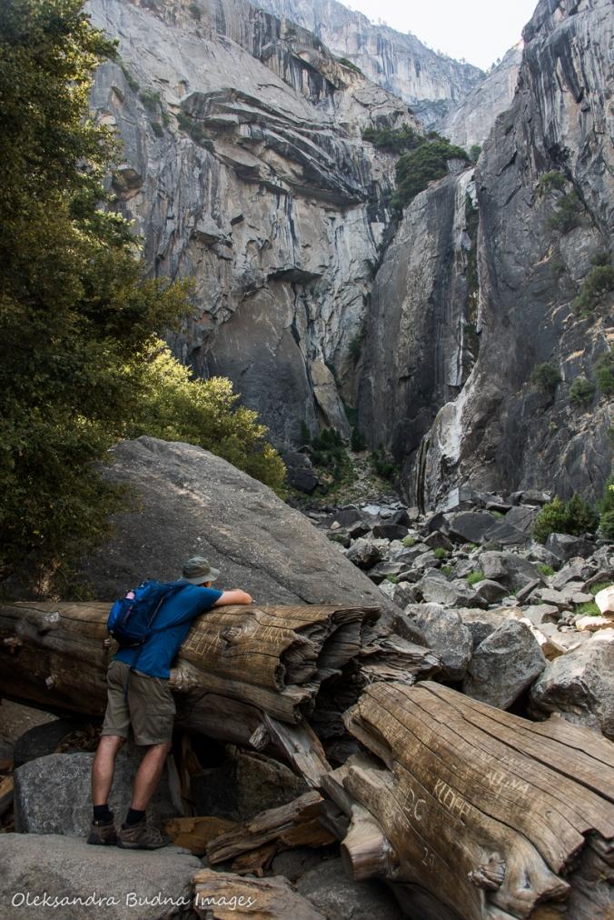 looking for Yosemite falls