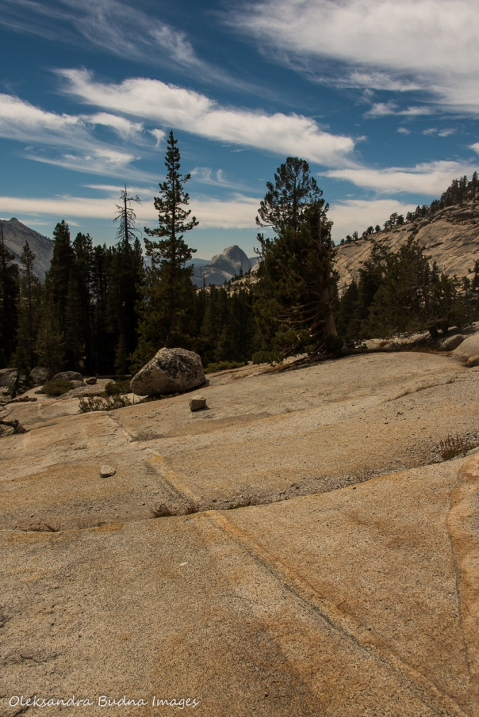 view from Olmsted point in Yosemite