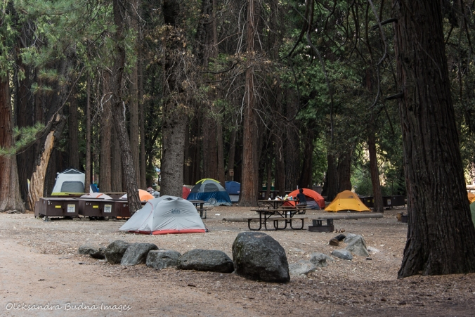 camp 4 at Yosemite