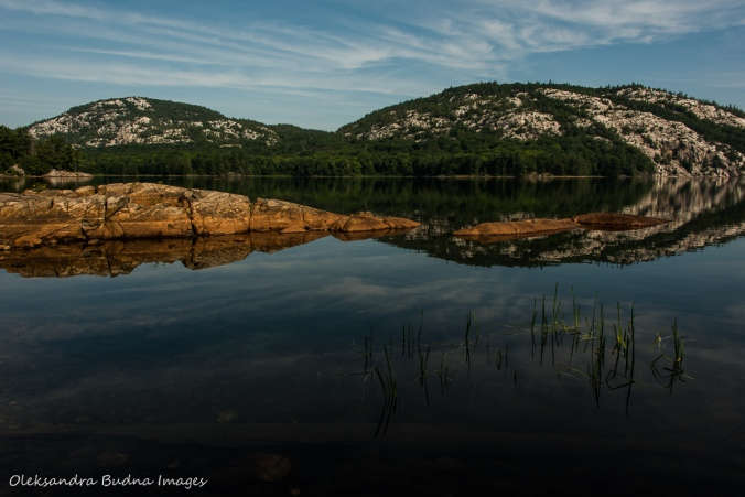 beautiful reflections on Killarney Lake