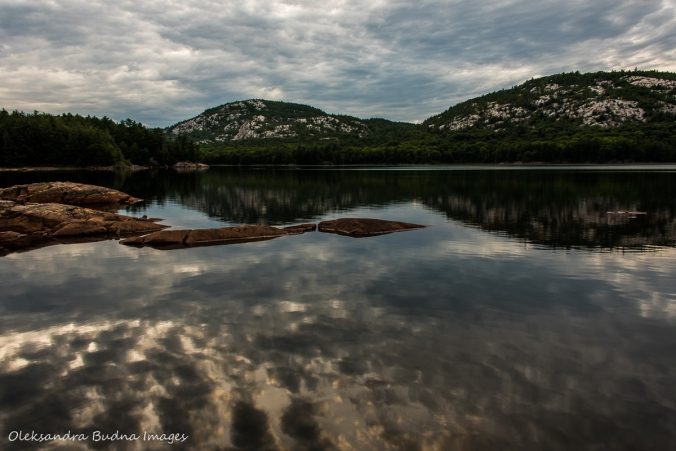 reflections on Killarney Lake