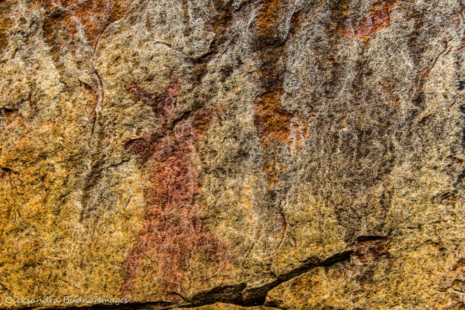 pictographs on Rock Lake in Algonquin