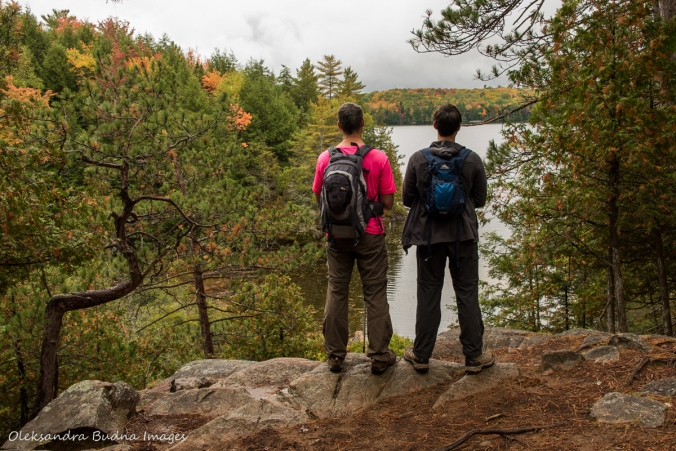 enjoy the view of Silent Lake from a lookout along Lakeshore Trail