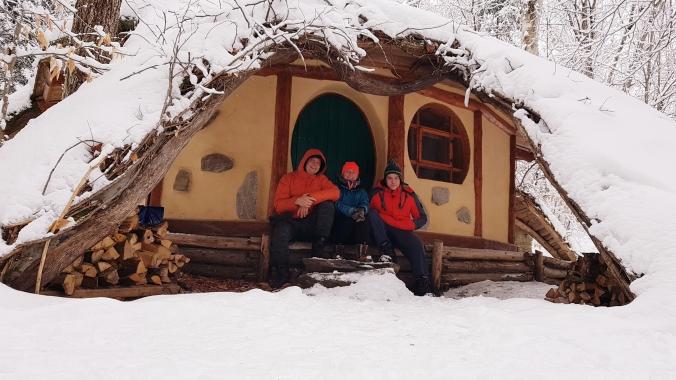 Hobbit House at Les toits u monde