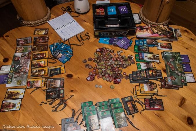 game of 7 Wonders