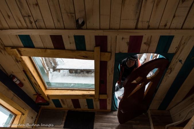 inside Enchanted Chalet at Les Toits du Monde