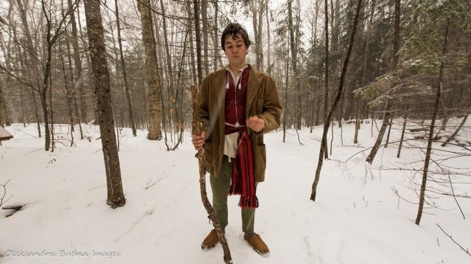 dressed at Hobbit at Les Toits du Monde
