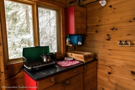 inside Perched Chalet at Les Toits du Monde