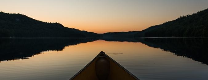 sunrise on Nellie Lake