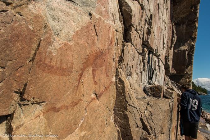 Mishipeshu on Agawa Rock
