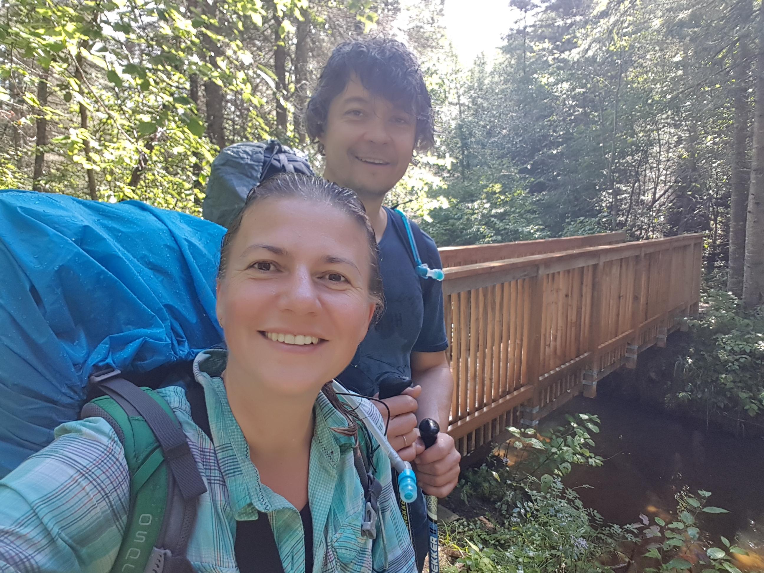 hiking Coastal Trail at Pukaskwa National Park
