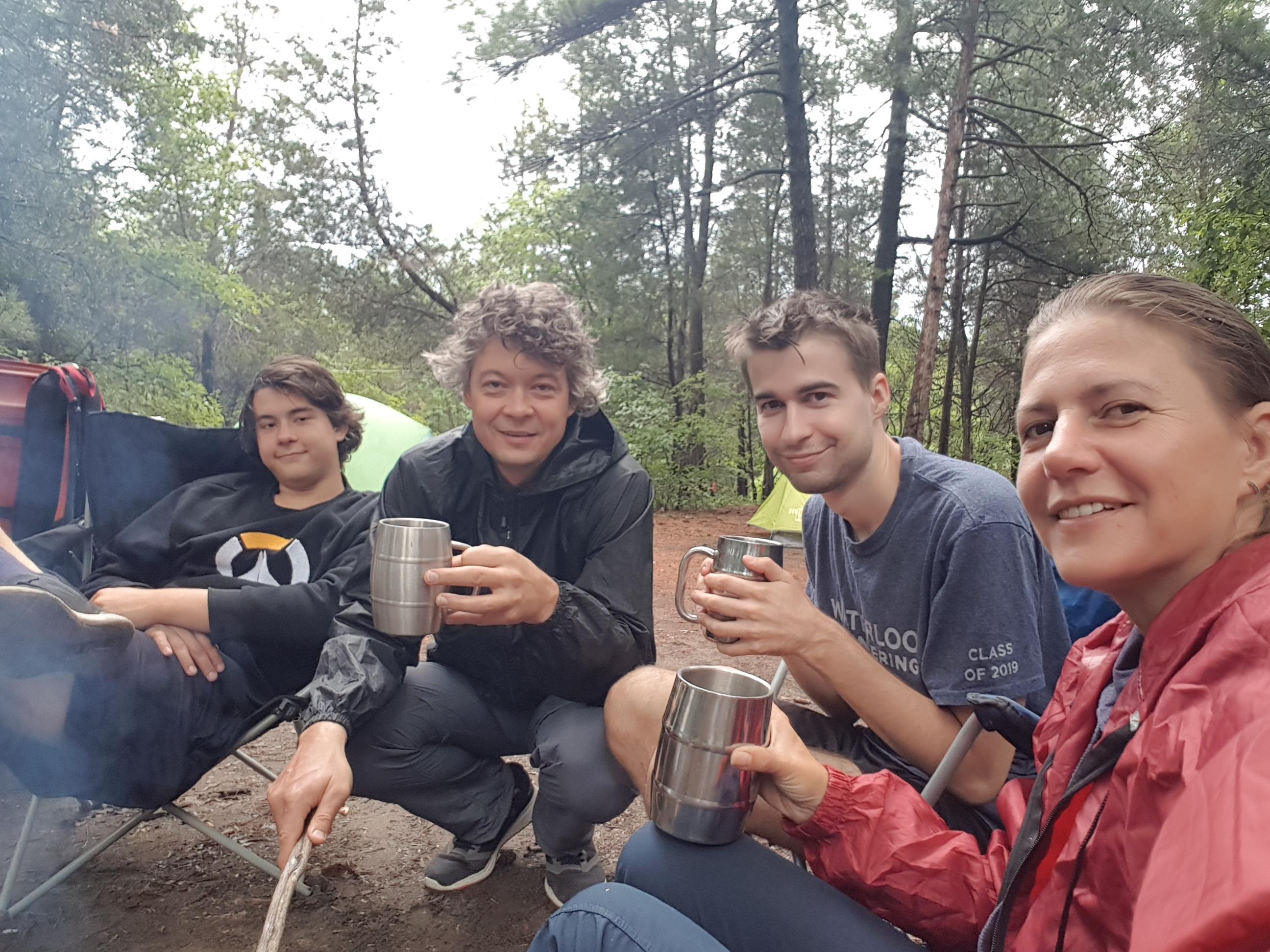 camping at Pinery