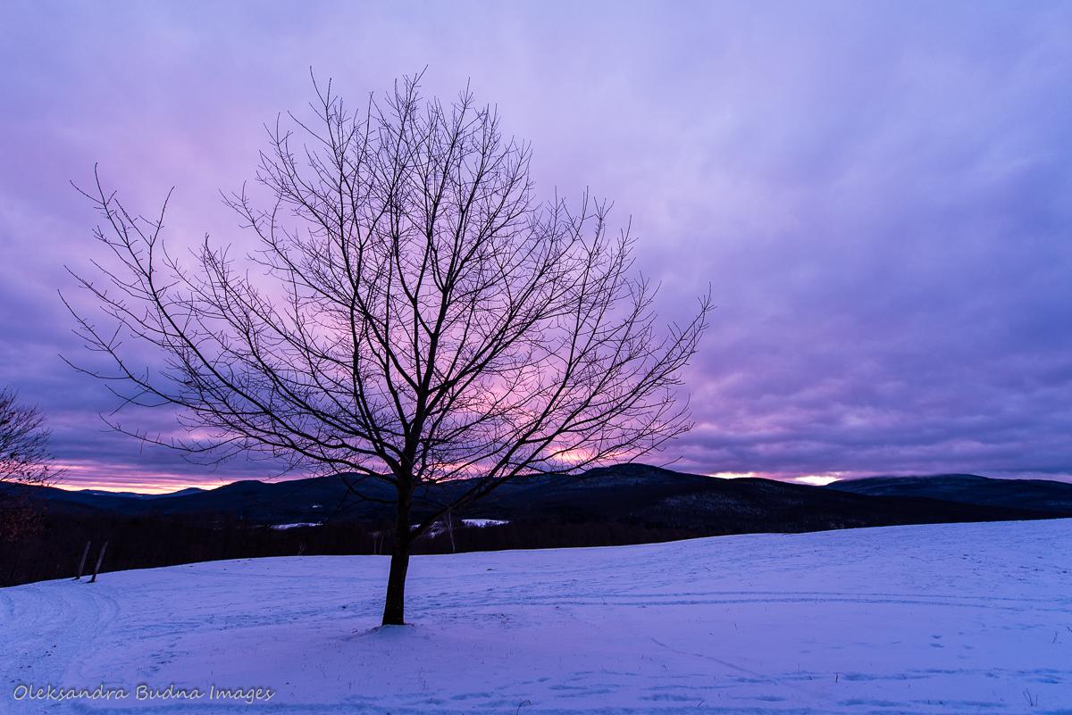 sunrise at Au Diable Vert