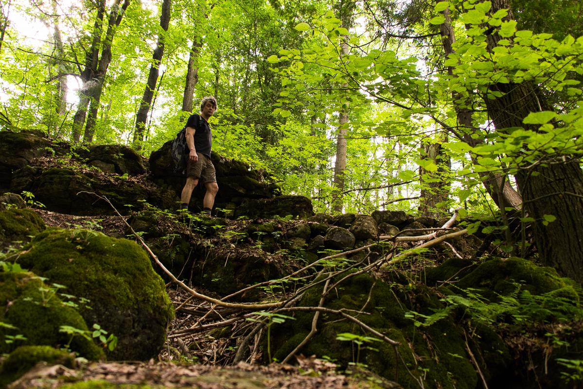 Hiking at Mono Cliffs Provincil Park