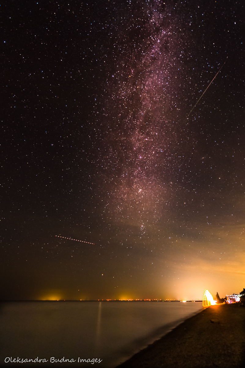Milky Way and meteo showers in Pinery