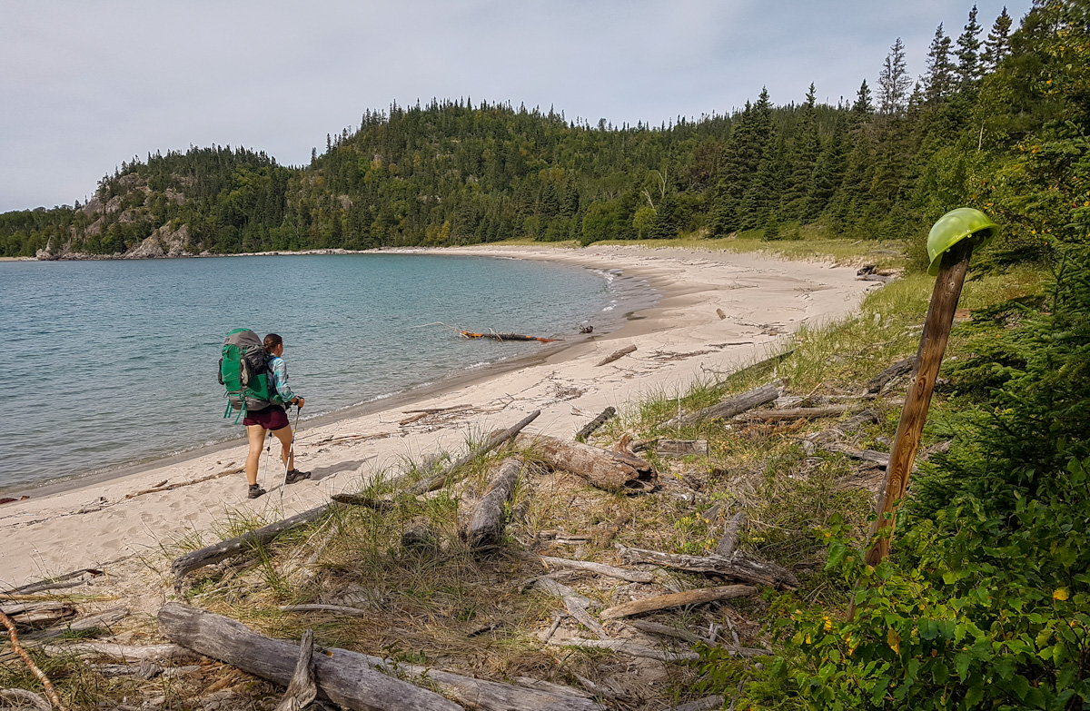 backpacking in Pukaskwa