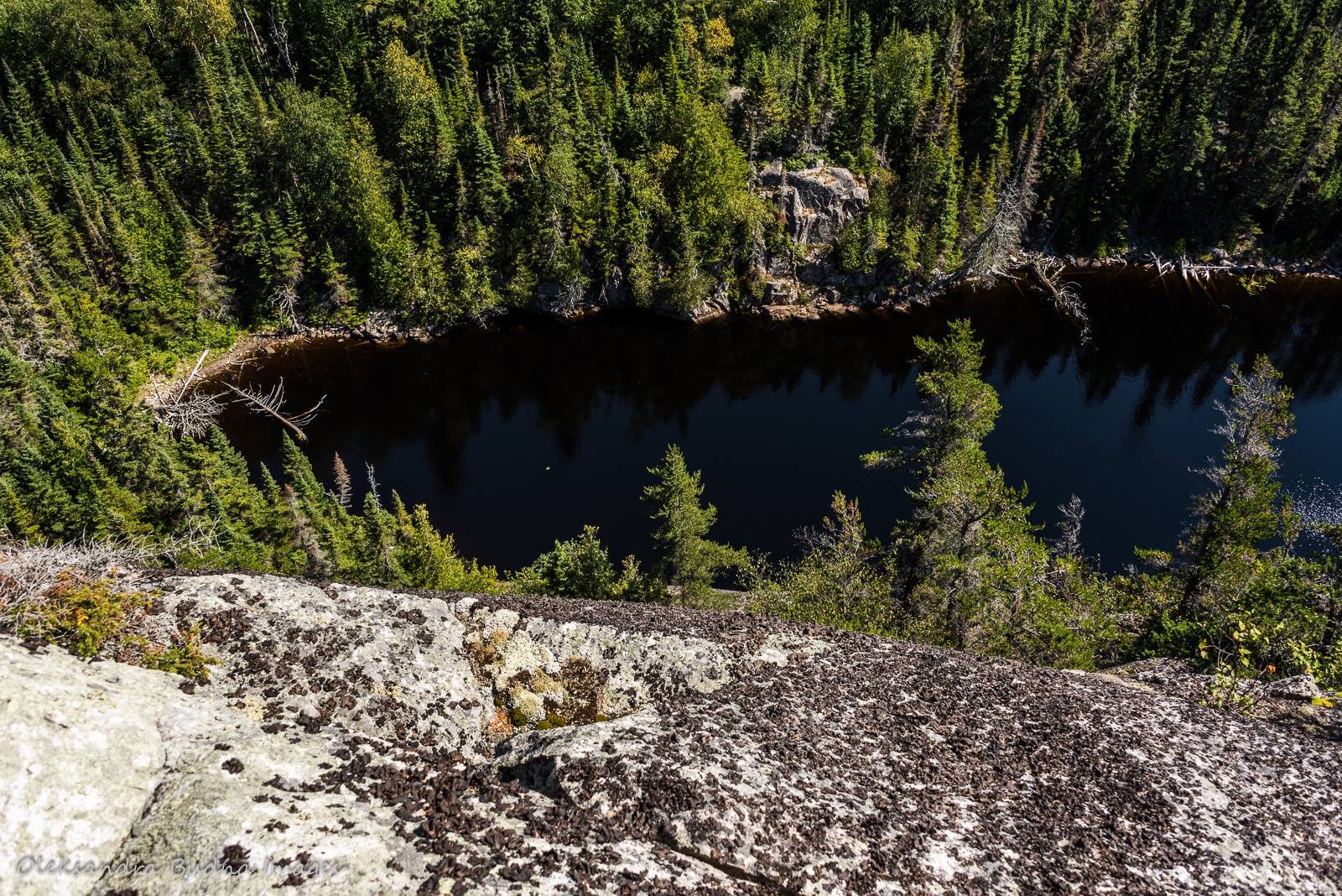 views along Coastal Hiking Trail in Pukaskwa