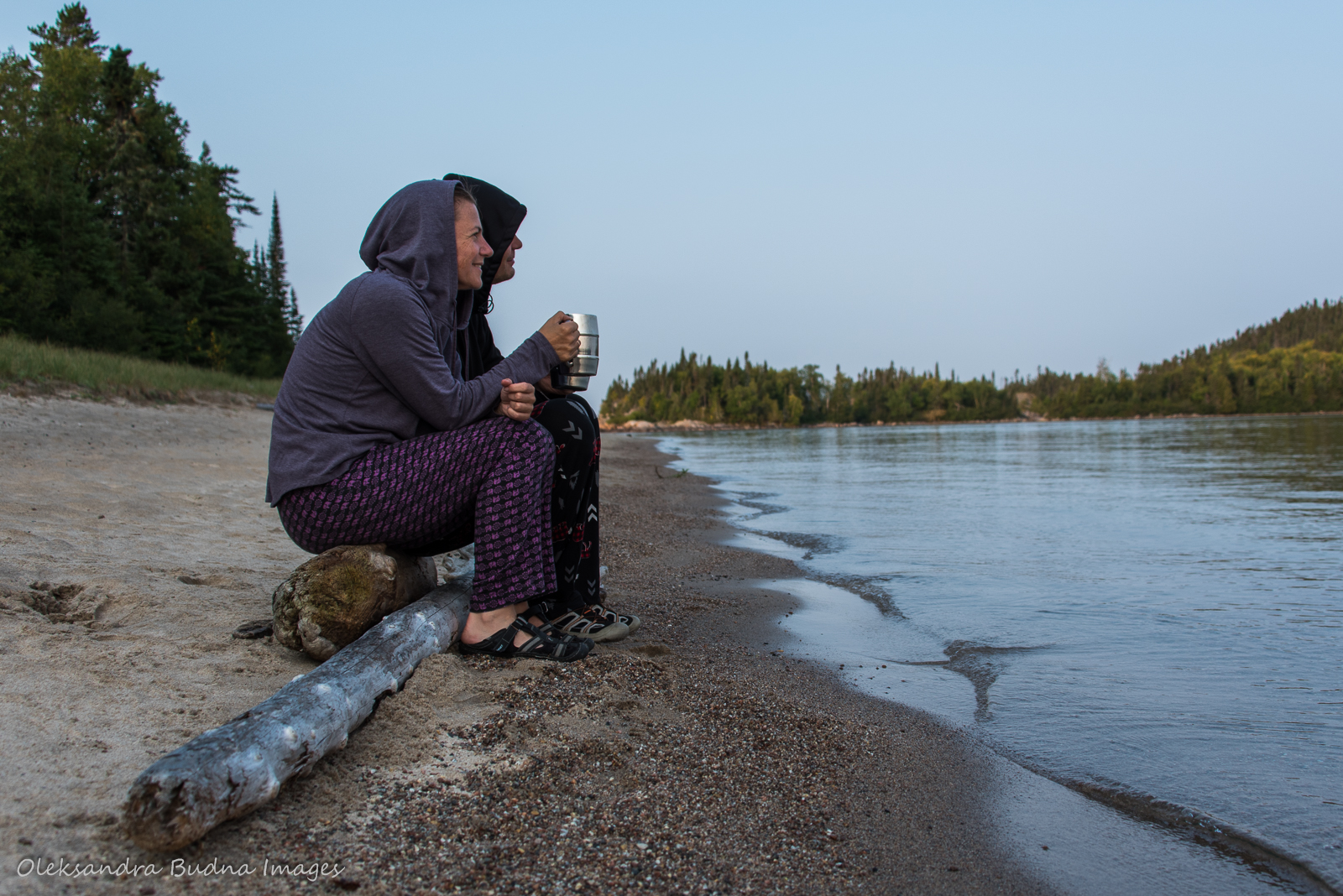 evening at Fish Harbour in Pukaskwa